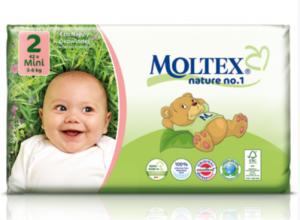 Mähkmed Moltex Nature Nr2 (3-6kg) 42tk